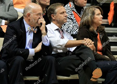 Bill Haslam, Crissy Haslam, Joe DiPietro Tennessee Gov. Bill Haslam, center, and his wife, Crissy, watch with University of Tennessee President Joe DiPietro, left, as Tennessee plays Vanderbilt in an NCAA college basketball game, in Nashville, Tenn. Vanderbilt upset Tennessee 93-79