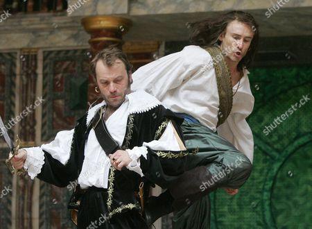 'Under the Black Flag' - Nicolas Tennant ( Kees de Keyser ) Cal MacAninch ( Long John Silver )