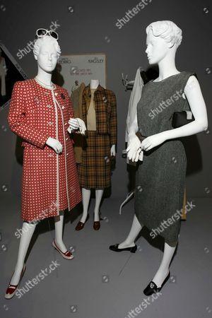 HBO Mrs. Harris, 2005 worn by Annette Bening  designed by Julie Weiss.
