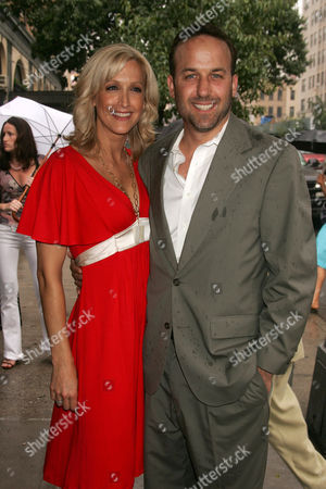 Stock Picture of Lara Spencer and David Haffenreffer