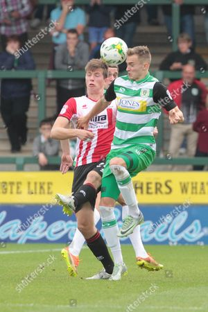 Editorial image of Yeovil Town v Cheltenham Town, EFL Sky Bet League 2 - 24 Sep 2016