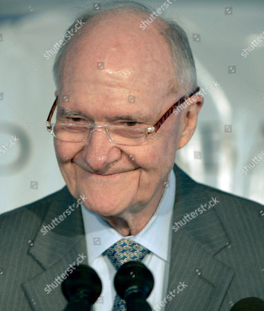 Brent Scowcroft Brent Scowcroft, former U.S. National Security Adviser under former President H.W. Bush, smiles as he delivers the keynote address during a ceremony honoring Bush in Biddeford, Maine, on . The University of New England plans to build a new building and library named in honor of Bush