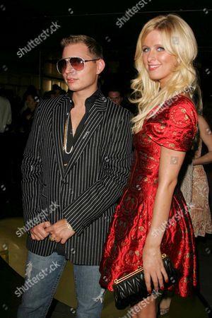 Scott Storch and Nicky Hilton