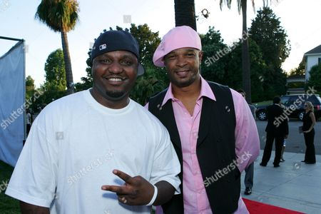 Stock Picture of Aries Spears and Damon Wayans