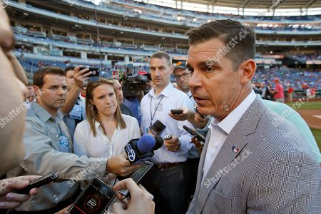 Billy Bean Billy Bean, Major League Baseball's vice president of social responsibility & inclusion, speaks with media before a baseball game between the Washington Nationals and the Chicago Cubs at Nationals Park, in Washington