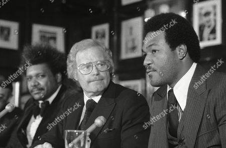 George Foreman, Don King, Roone Arledge Former heavyweight champion George Foreman, right, signed a three-year contract with ABC-TV covering his activities both in and outside the ring, it was announced in New York. Roone Arledge, center, President of ABC Sports, said the deal was for three years with an option to continue it. Don King is at left