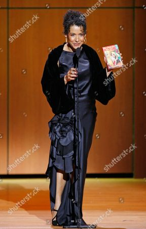 Mariane Pearl Journalist Mariane Pearl accepts her Woman of the Year award at the 18th Annual Glamour Women of the Year awards at Lincoln Center's Avery Fisher Hall in New York