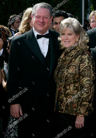 Al Gore, Tipper Gore Former Vice President Al Gore and his wife, Tipper Gore arrive for the 59th Primetime Emmy Awards at the Shrine Auditorium in Los Angeles. Former Vice President Al Gore and his wife, Tipper, are separating after 40 years of marriage