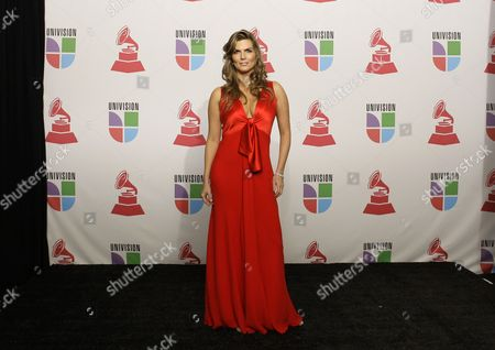 Montserrat Oliver Actress Montserrat Oliver poses in the press room at the 9th annual Latin Grammy Awards on in Houston