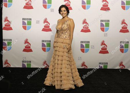 Karyme Lozano Actress Karyme Lozano backstage at the 9th annual Latin Grammy Awards on in Houston
