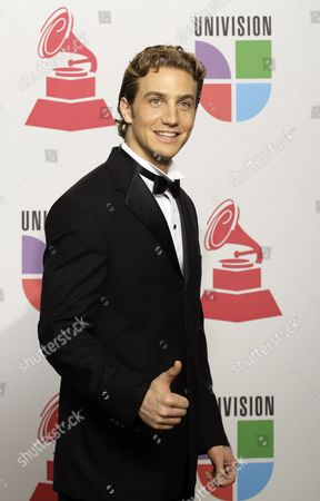 Eugenio Siller Actor Eugenio Siller backstage at the 9th annual Latin Grammy Awards on in Houston