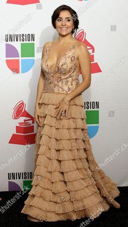 Karyme Lazano Actress Karyme Lozano backstage at the 9th annual Latin Grammy Awards on in Houston