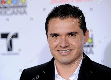 Horacio Palencia Horacio Palencia arrives at the first annual Mexican Billboard Awards, in Los Angeles