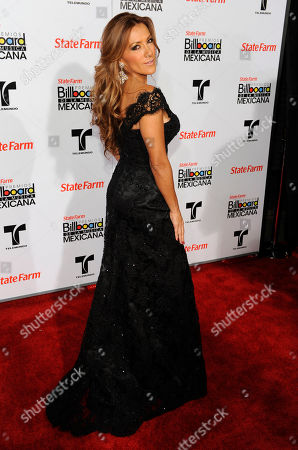 Azucena Cierco Azucena Cierco arrives at the first annual Mexican Billboard Awards, in Los Angeles