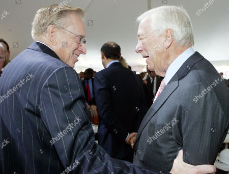 Editorial picture of Obit-9/11 Museum Founding Chairman, NEW YORK, USA