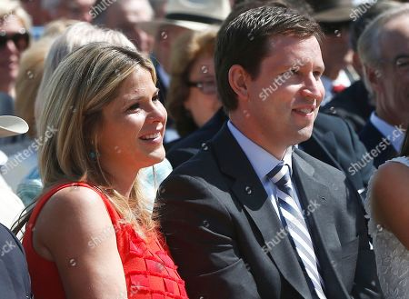 "Jenna Bush Hager, Henry Hager Jenna Bush Hager, left, and husband Henry Hager listen as former President George W. Bush speaks at the dedication of the George W. Bush presidential library on the campus of Southern Methodist University in Dallas. Jenna Bush Hager announced that she is pregnant with her second child, Monday, April 6, 2015, on NBC's ""Today"" show. The twin daughter of former President George W. Bush says she expects to give birth in August"