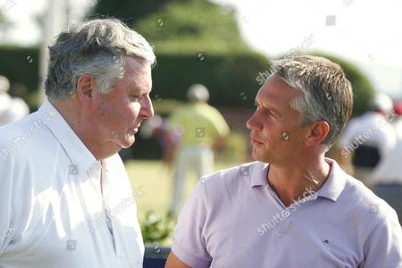Peter Alliss and Gary Lineker