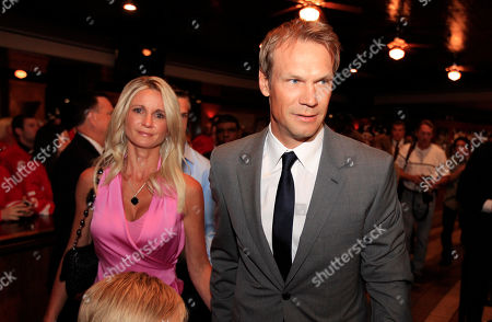 Nicklas Lidstrom, Annika Lidstrom Detroit Red Wings captain Nicklas Lidstrom of Sweden and his wife Annika arrive for the news conference where he announced his retirement in Detroit, . Lidstrom retires after a 20-season career