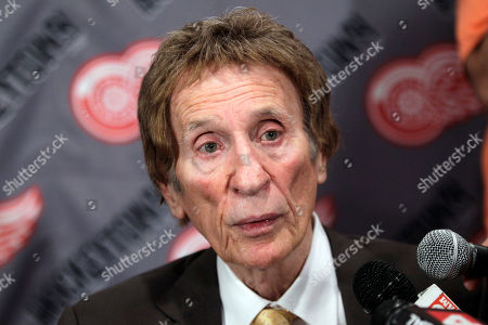 Mike Ilitch Detroit Red Wings owner Mike Ilitch addresses the media after captain Nicklas Lidstrom of Sweden announced his retirement during a news conference in Detroit, . Lidstrom retires after a 20-season career