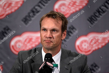 Nicklas Lidstrom Detroit Red Wings captain Nicklas Lidstrom of Sweden announces his retirement during a news conference in Detroit, . Lidstrom retires after a 20-season career