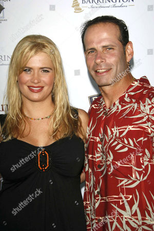 Stock Picture of Kristy Swanson and Lloyd Eisler