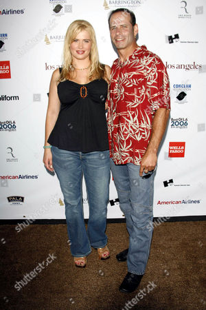 Kristy Swanson and Lloyd Eisler