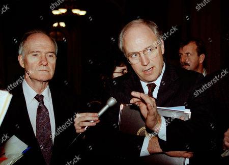 Editorial image of Richard Cheney, Washington, USA