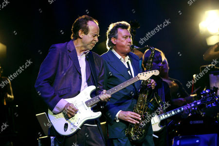 Roxy Music - Phil Manzanera and Andy Mackay