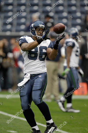 John Owens Seattle Seahawks tight end John Owens (86) warm sup before an NFL football game against the Houston Texans in Houston