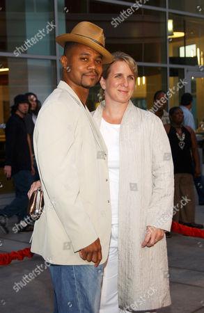 Cuba Gooding Jnr and wife Sara Kapfer
