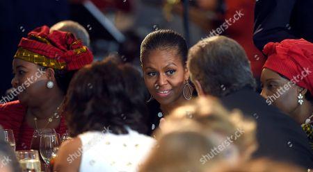 Editorial photo of US Michelle Obama Africa Summit, Washington, USA