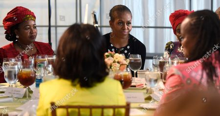 Editorial picture of US Michelle Obama Africa Summit, Washington, USA