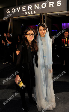 Sarina Farhadi, Leila Hatami Sarina Farhadi, left, and Leila Hatami at the Governors Ball following the 84th Academy Awards, in the Hollywood section of Los Angeles