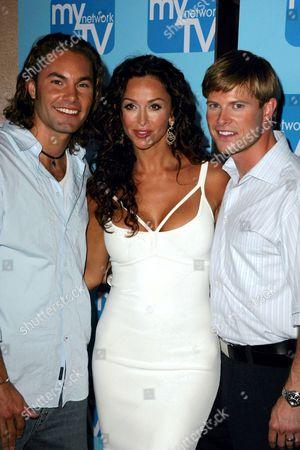 Zack Silva with Sofia Milos and Nate Haden