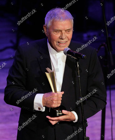 Tom T. Hall Singer, songwriter, and author Tom T. Hall accepts the poet's award during the Academy of Country Music Honors show, in Nashville, Tenn