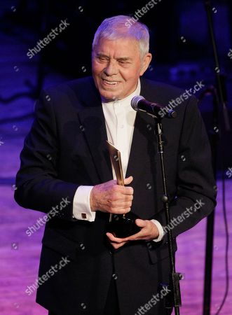 Tom T. Hall Tom T. Hall accepts the poet's award during the Academy of Country Music Honors show, in Nashville, Tenn