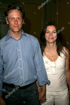 Steven Weber and Juliette Hohnen