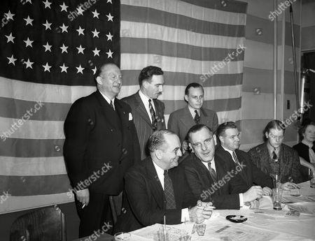 Editorial photo of American Nazi Kuhn, New York, USA