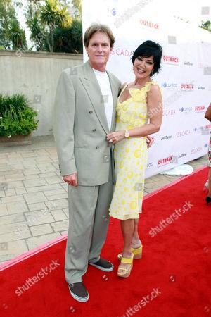Bruce Jenner and wife Kris Kardashian