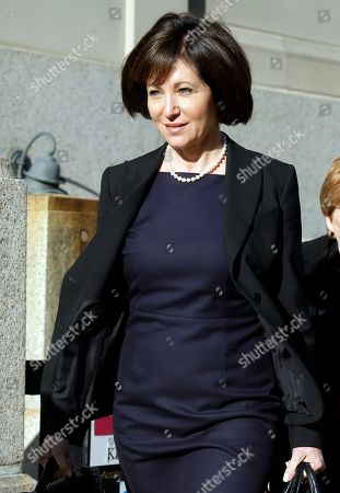 Stock Picture of Francine Katz Francine Katz leaves the Civil Court building in St. Louis. Katz sued Anheuser-Busch in 2009 for gender discrimination, a year after resigning as vice president of communications and consumer affairs for the maker of Budweiser, Bud Light and other beers. Closing arguments are expected in the case after nearly three weeks of testimony