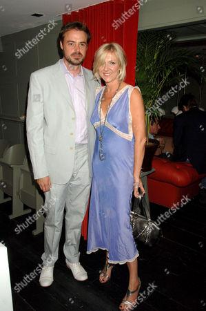 Jamie Theakston with new girlfriend Sophie Siegle