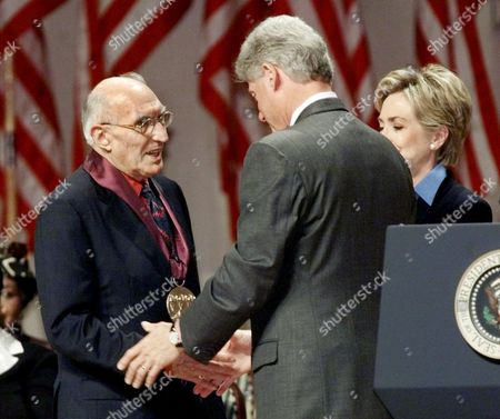 Editorial picture of CLINTON ARTS MEDALS, WASHINGTON, USA