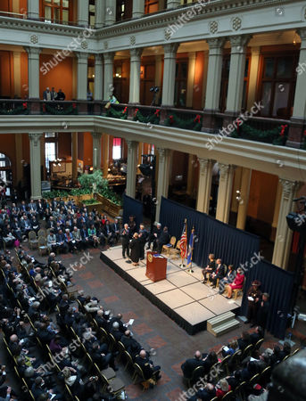 Editorial picture of Dayton Inauguration, St. Paul, USA