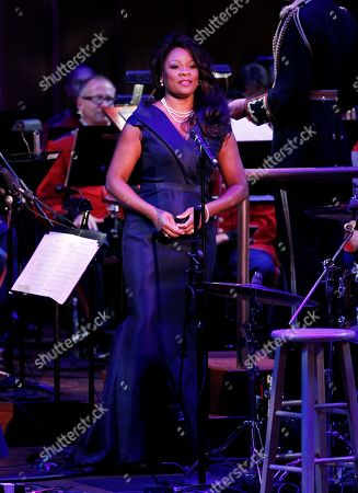 """Denyce Graves Mezzo-soprano Denyce Graves performs after President Barack Obama speaks at """"A Concert for Hope"""" at the Kennedy Center in Washington as the 10th anniversary of the September 11 attacks are observed"""