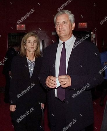 KENNEDY SCHLOSSBERG Caroline Kennedy Schlossberg and husband Ed Schlossberg arrive at the first presidential debate between Democratic presidential candidate Vice President Al Gore and Republican candidate Texas Gov. George W. Bush, at the Clark Athletic Center on the campus of the University of Massachusetts in Boston