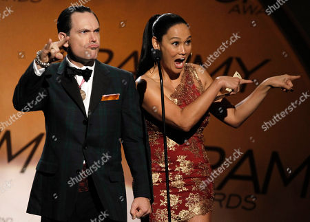 Tia Carrere, Kurt Elling Tia Carrere, right, and Kurt Elling are seen on stage at the Grammy Awards, in Los Angeles