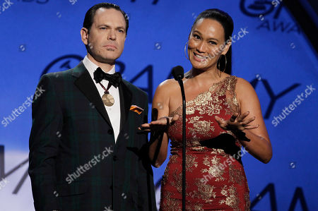 Tia Carrere, Kurt Elling Tia Carrere, right, and Kurt Elling are seen at the Grammy Awards, in Los Angeles