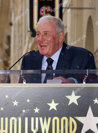 Jerry Weintraub American film producer Jerry Weintraub, right, praises his wife, singer Jane Morgan, not seen, as she is honored with a star on the Hollywood Walk of Fame in Los Angeles Friday, May, 6, 2011