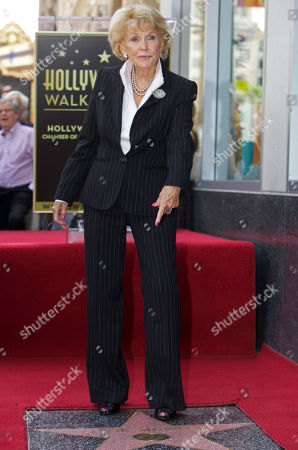 Jane Morgan Singer Jane Morgan is honored with a star on the Hollywood Walk of Fame in Los Angeles Friday, May, 6, 2011
