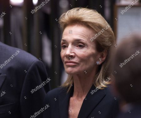 RADZIWELL Lee Radziwill, sister of Jacqueline Kennedy Onassis, leaves the Church of St. Thomas More in New York following a quiet Mass to celebrate the lives of John Kennedy Jr. and Carolyn Bessette Kennedy